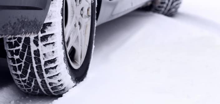 Why is my car shaking after a snowstorm?