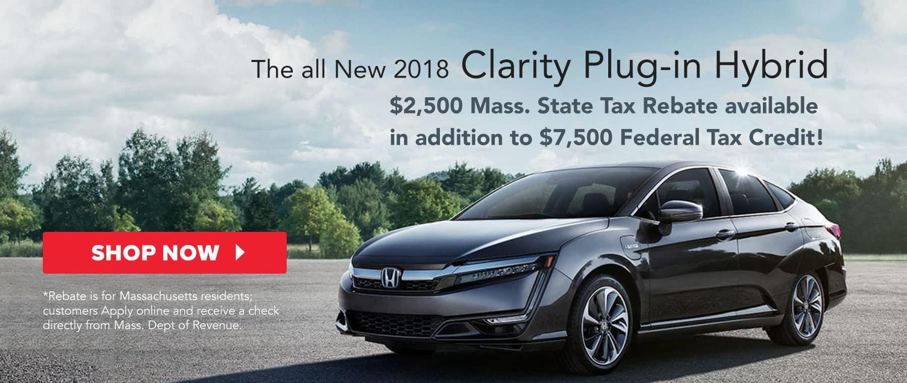 Silko Honda Clarity Plug-In Hybrid Massachusetts Rebate