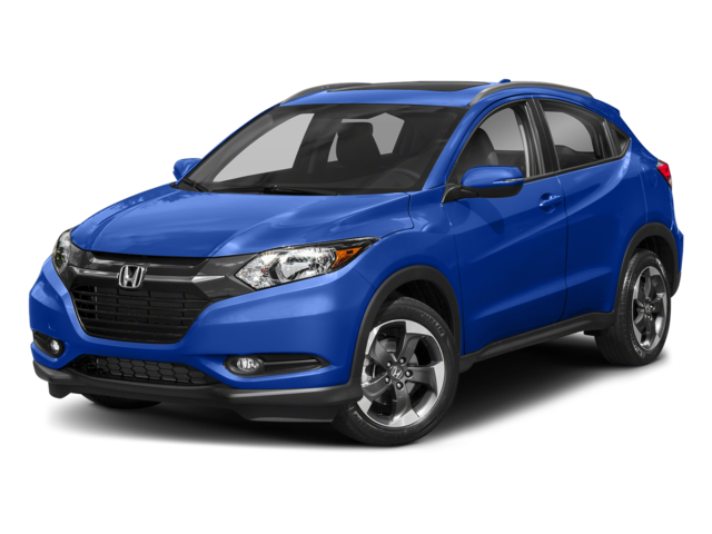 2018 Honda HR-V white background