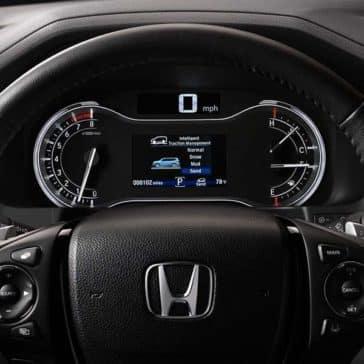 2018 Honda Pilot Dash