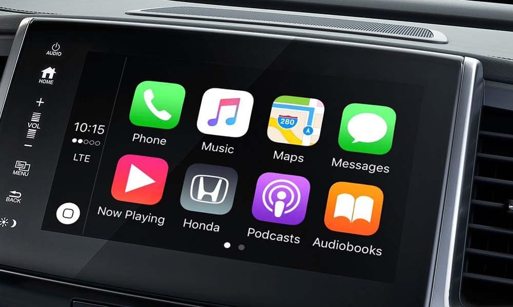2018 Honda Pilot Entertainment System