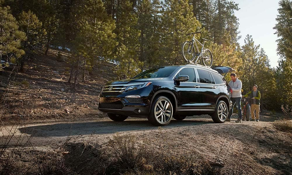 2018 Honda Pilot On a Nature Trail