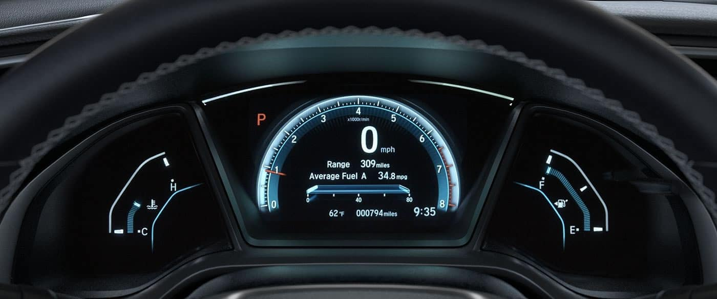 2018 Honda Civic Speedometer