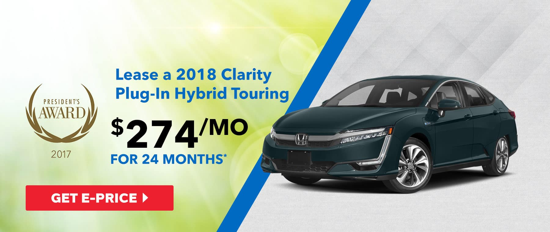 2018 Clarity Plug-In Hybrid Touring