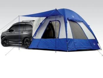 2016 Honda Pilot Attached to Tent