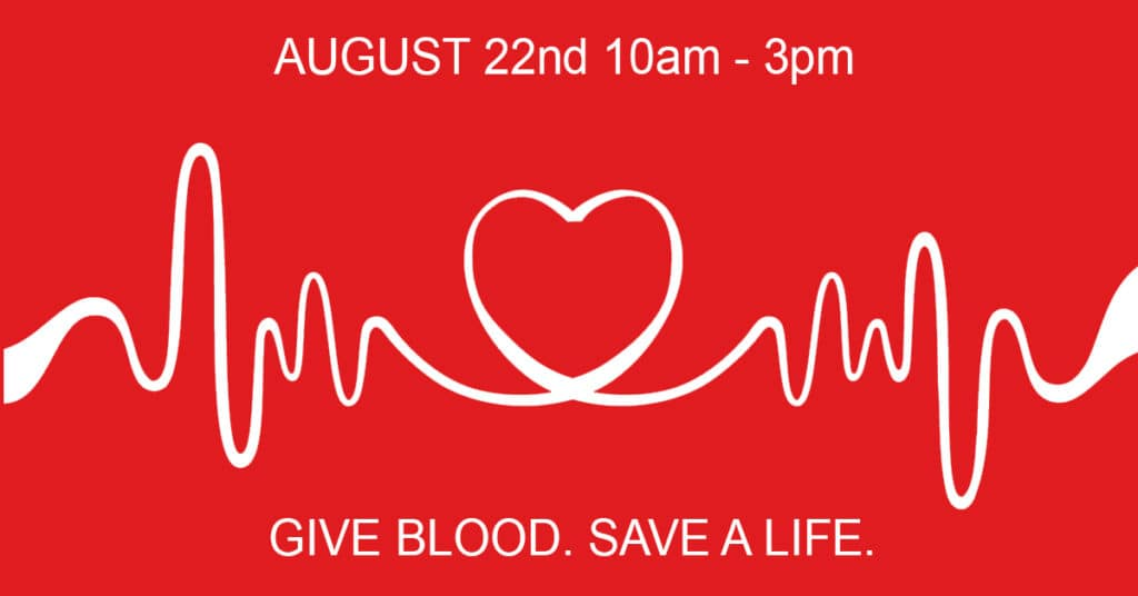 Blood Drive Donate Today Save A Life