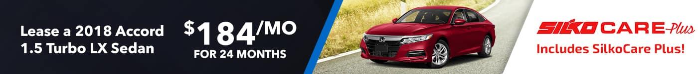 Silko Honda Accord Lease