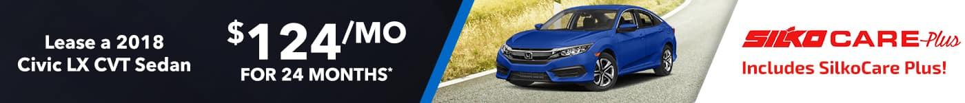 Silko Honda Civic Lease