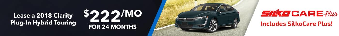 Silko Honda Clarity Lease