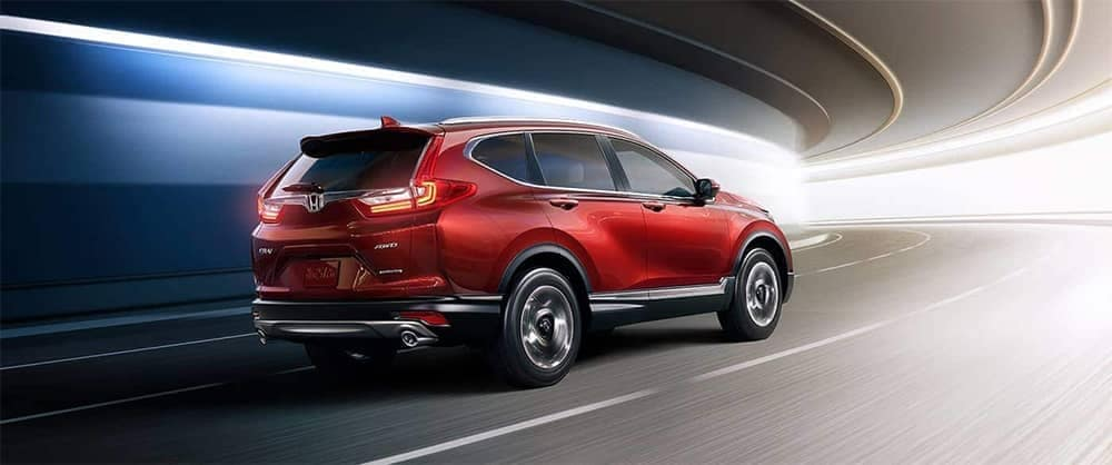 2019 Honda CR V Driving Through Tunnel
