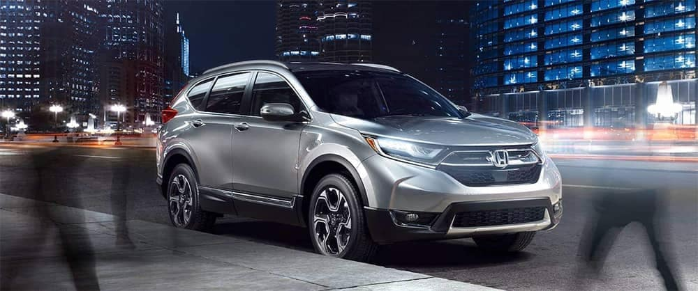 2019 Honda CR V Parked on Street in City