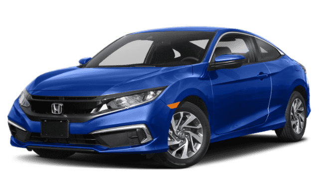 Blue 2019 Honda Civic Coupe