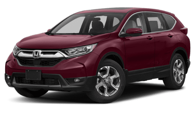 Red Honda CR-V EX
