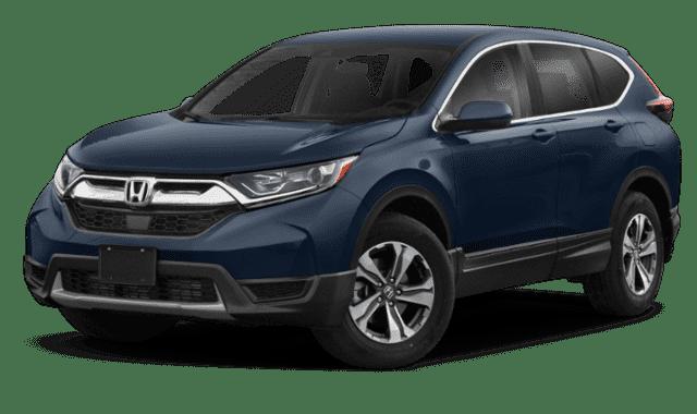 Blue Honda CR-V LX
