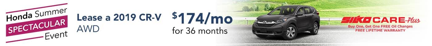 Silko Honda CRV Lease
