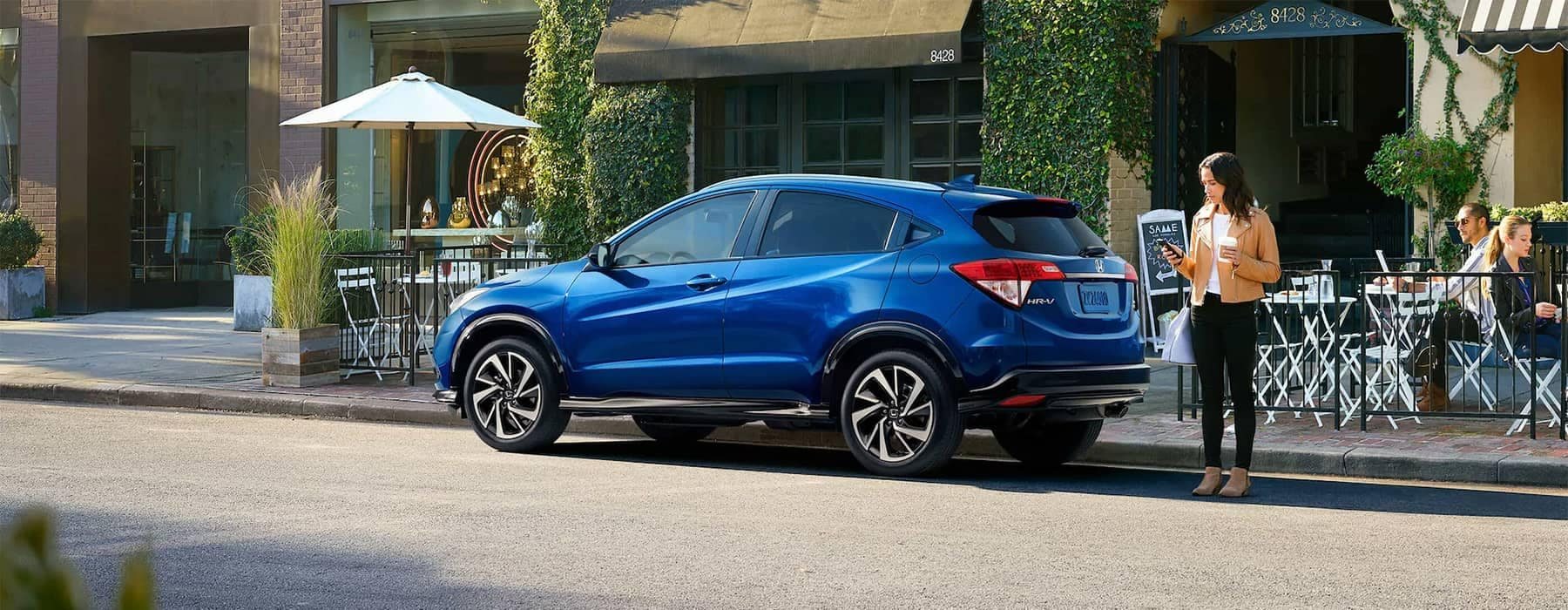 Honda HR-V Parked on Side of Road