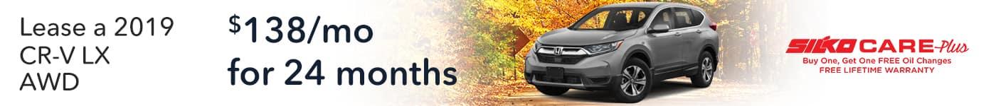 Silko Honda CR-V Lease
