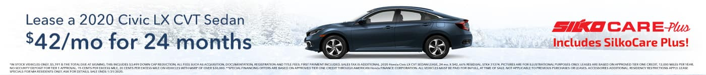 Silko Honda Civic Lease Special