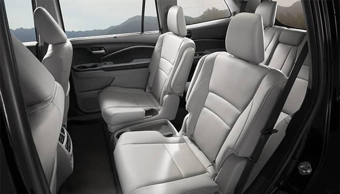 Honda Pilot Interior Rear Seating