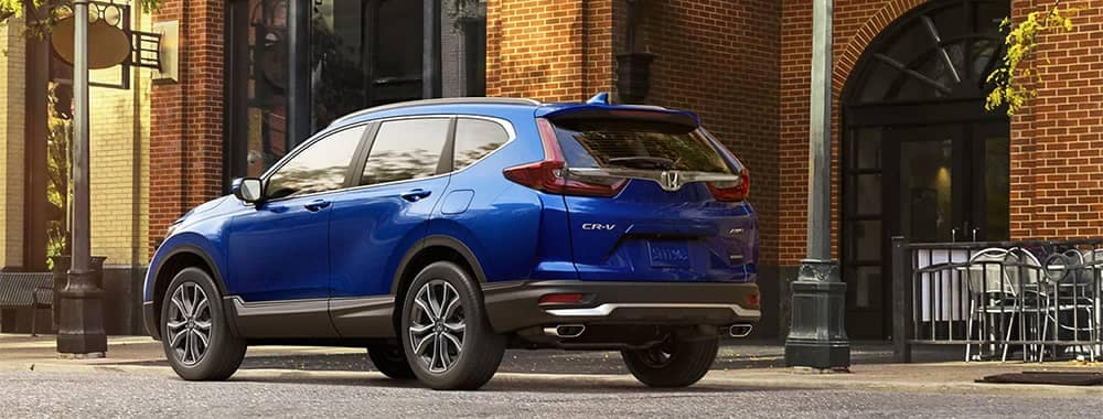 2020 Honda CR-V Parked on Side of Road