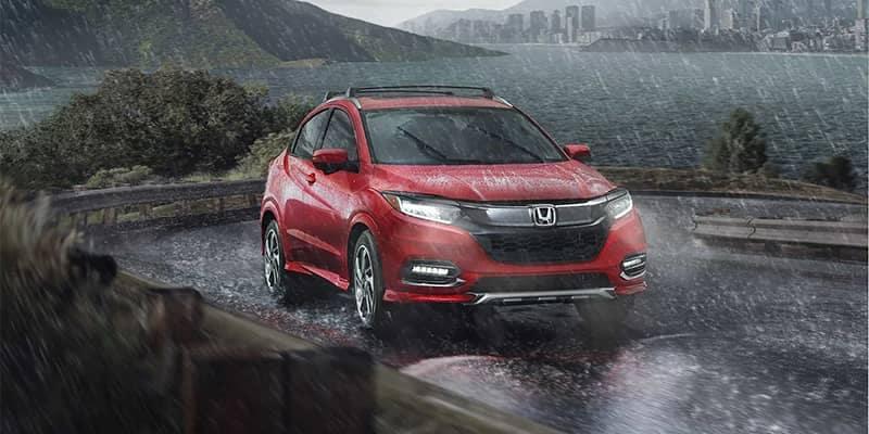 Honda HR-V Driving in the Rain