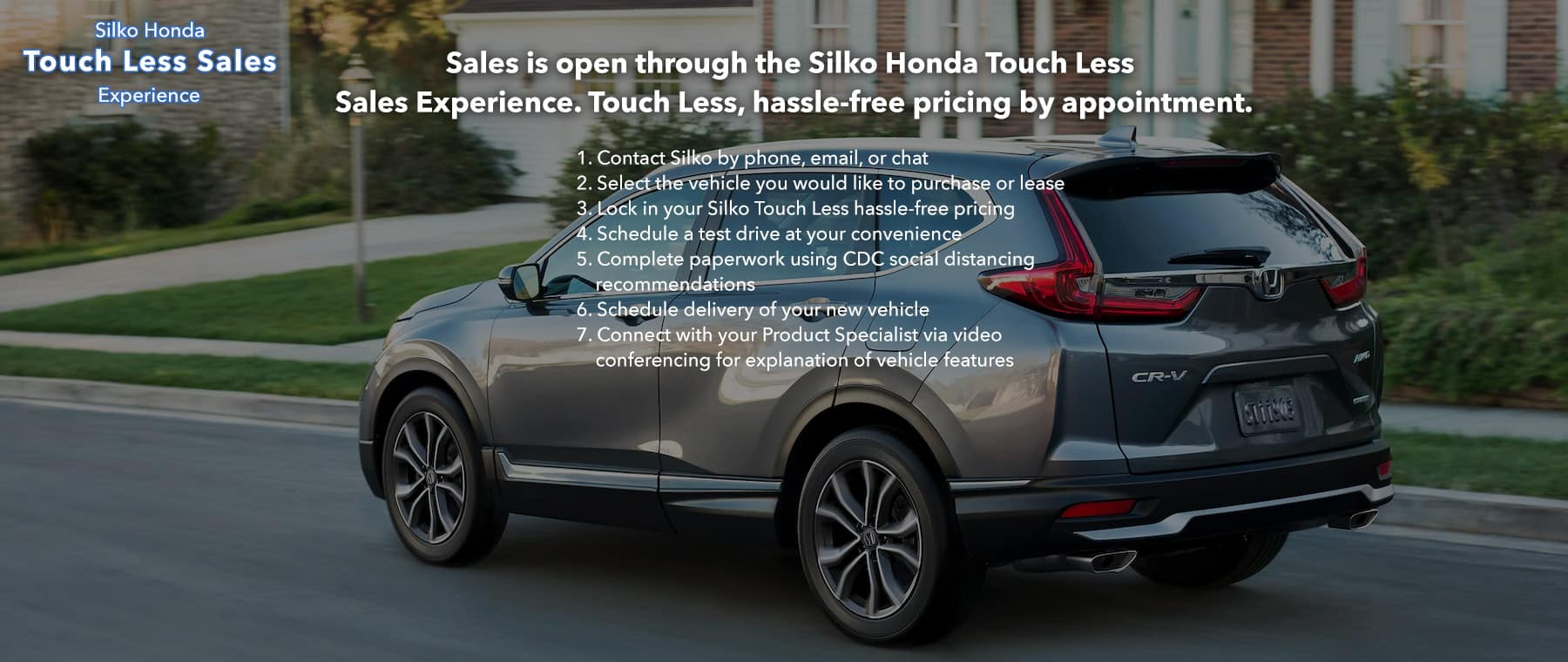 Silko Honda Touch Less Sales Experience