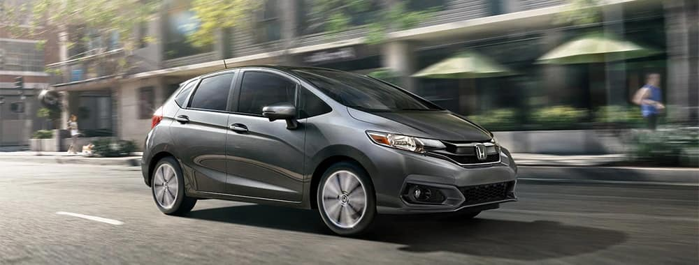 Honda Fit Driving Side Profile View