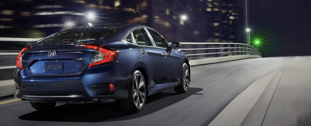 2021 Honda Civic Dark Blue