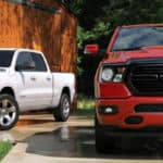 Two 2020 RAM 1500s