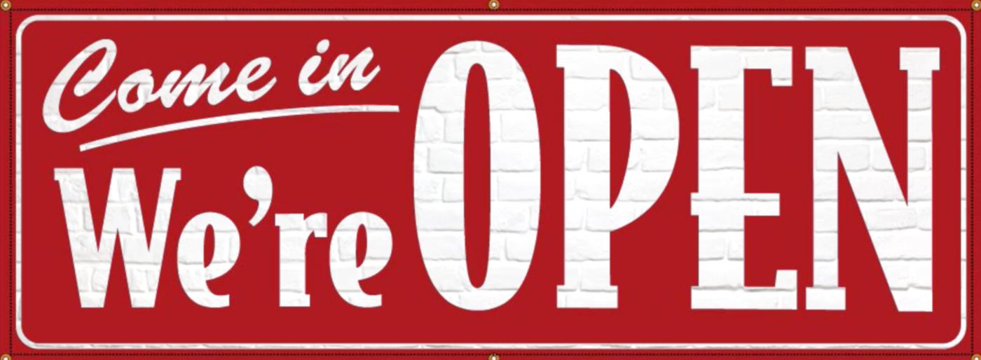 wer're open