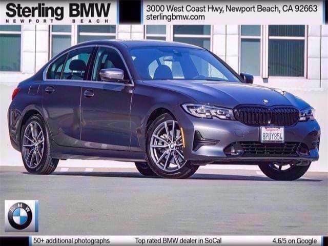 Pre-Owned 2020 BMW 3 Series 330i RWD Sedan