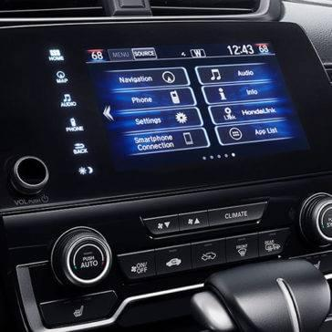 2017 Honda CR-V Interior Display Screen
