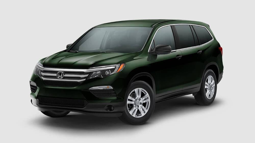 2017 honda pilot sussex honda for Black honda pilot