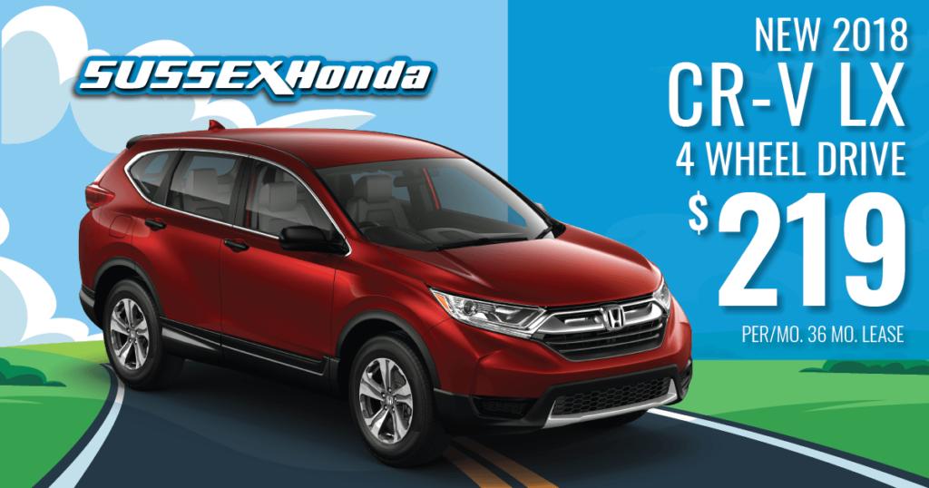 New 2018 Honda CR-V LX 4WD