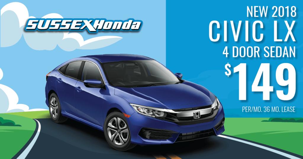 New 2018 Honda Civic LX AUTO