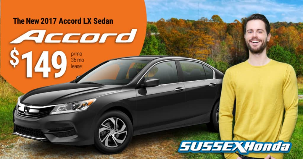 New 2017 Honda Accord LX AUTO for $149 p/m