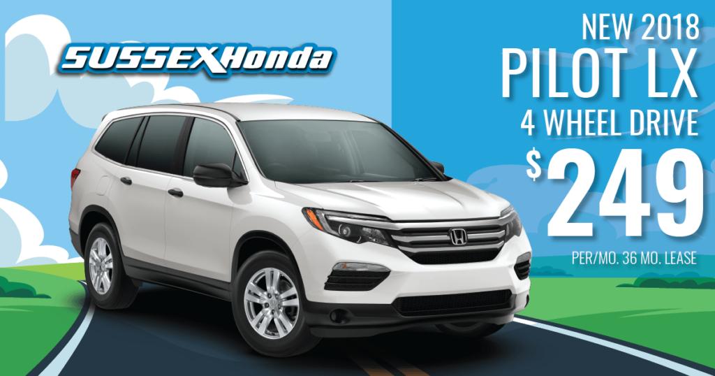 New 2018 Honda Pilot LX 4WD