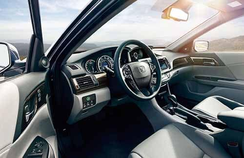 2017 Honda Interior Technology Features