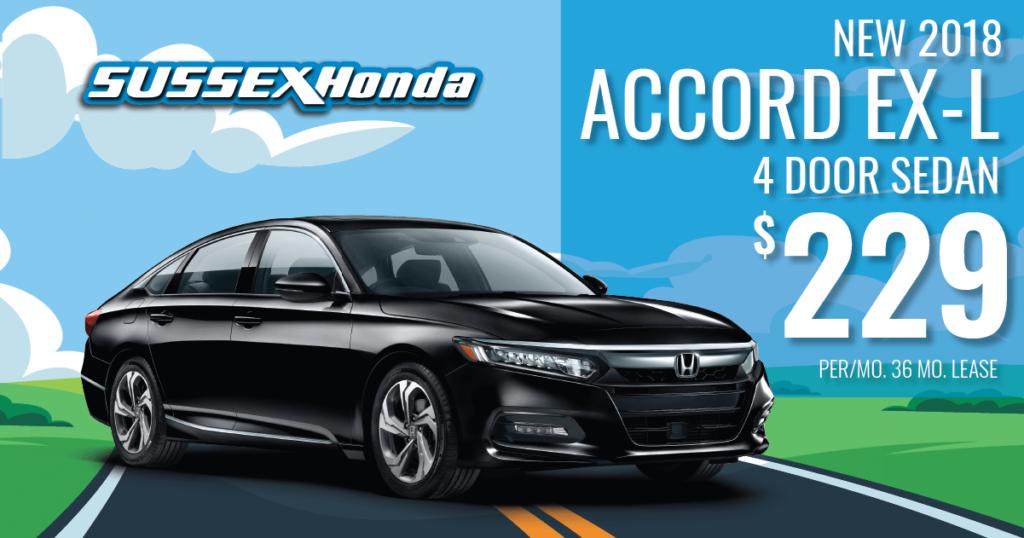 New 2018 Honda Accord EX-L