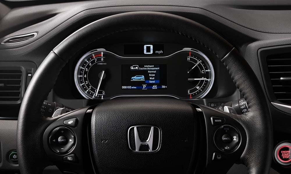 2018 Honda Pilot steering wheel