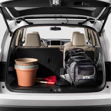2018 Honda Pilot trunk