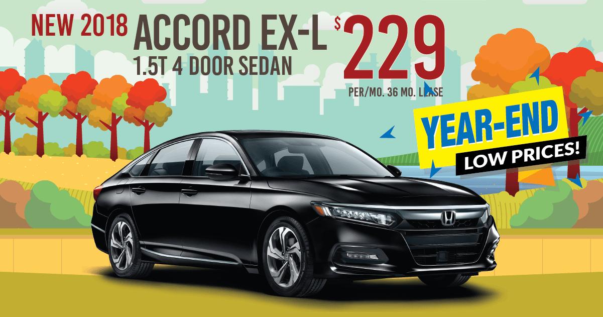 Perfect New Honda 2018 Accord EX L Auto Lease Specials For Sale In Newton, NJ
