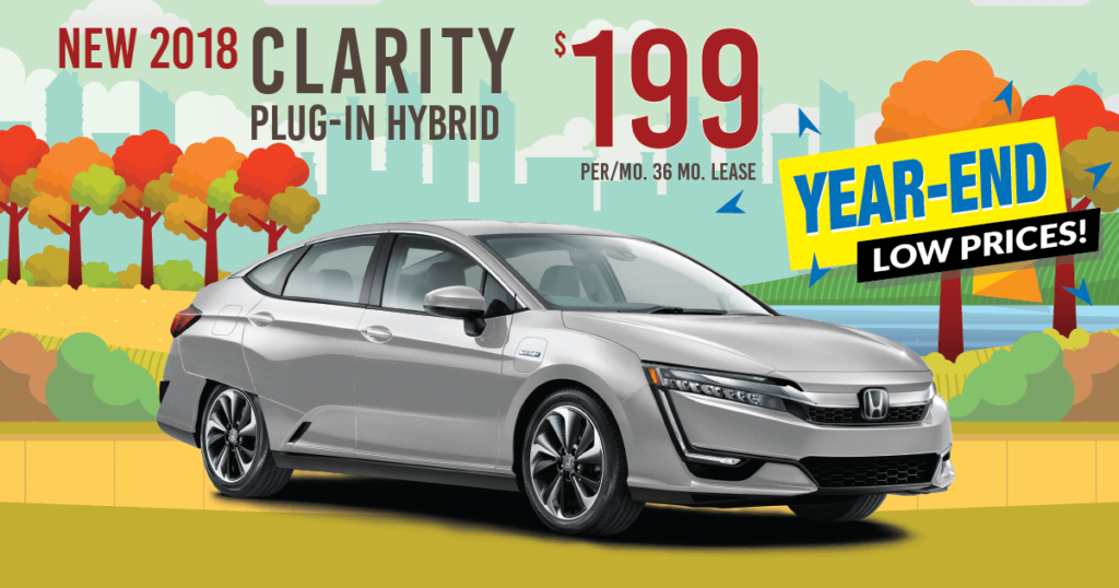 New 2018 Honda Clarity Touring PHEV