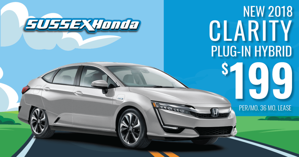 New 2018 Honda Clarity Touring PHEV