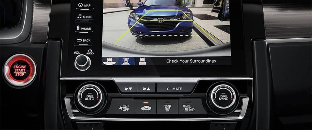 2019 Honda Civic sedan rear camera