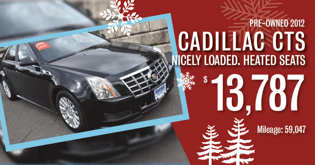 Certified Pre-Owned 2012 Cadillac CTS