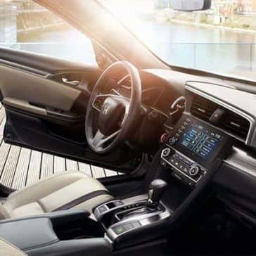 2019 Honda Civic Interior Front Seating