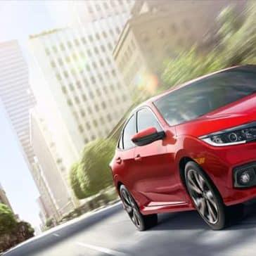 2019 Honda Civic Sedan Driving