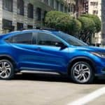 2019 honda hr-v on road