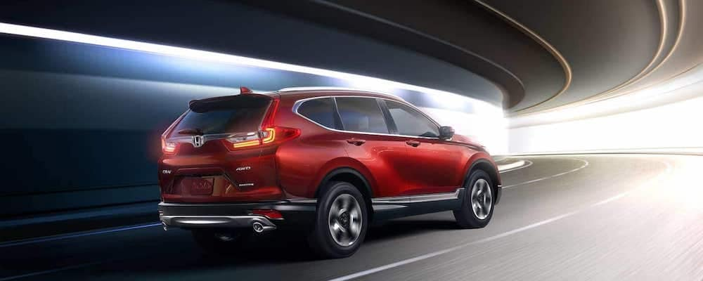 2019 cr-v exterior in red